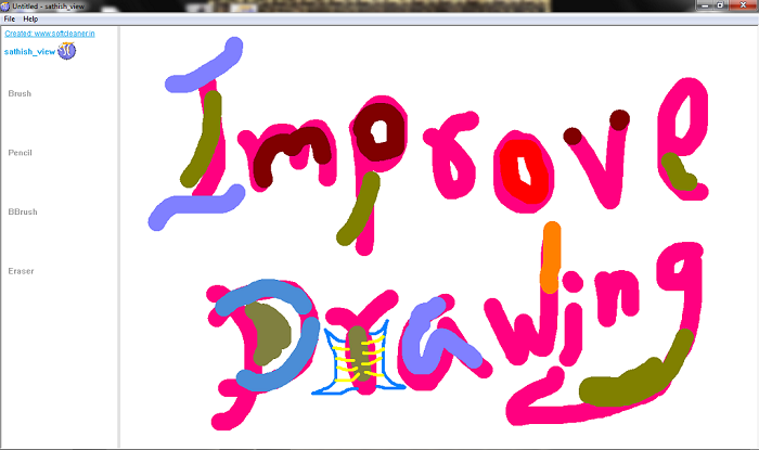 HD drawing platform from sathish_view, download and draw live pictures